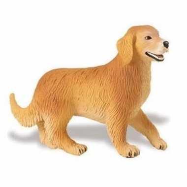 Groothandel speelgoed nep golden retriever hond 10 cm kopen