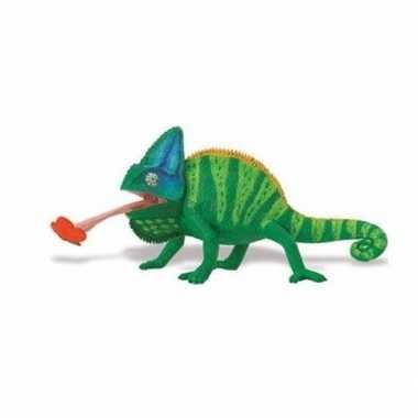 Groothandel speelgoed nep jemenkameleon 23 cm kopen