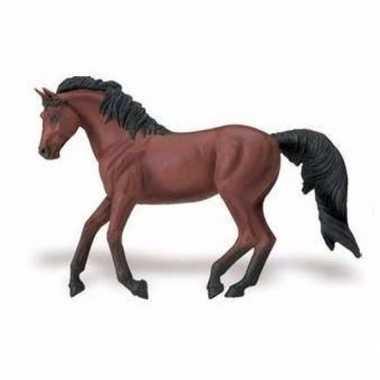 Groothandel speelgoed nep morgan paard merrie bruin/zwart 15 cm kopen