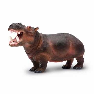 Groothandel speelgoed nep nijlpaard 24 cm kopen