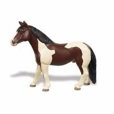 Groothandel speelgoed nep pinto paard merrie 12 cm kopen