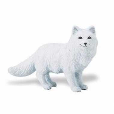 Groothandel speelgoed nep poolvos wit 8 cm kopen