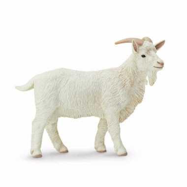 Groothandel speelgoed nep wit geiten bokje 9 cm kopen