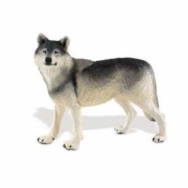 Groothandel speelgoed nep wolf 13 cm kopen