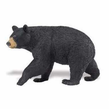 Groothandel speelgoed nep zwarte beer 11 cm kopen