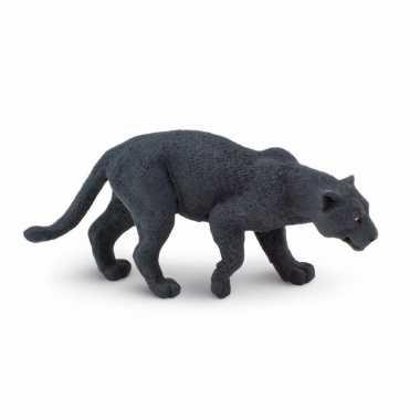 Groothandel speelgoed nep zwarte panter 10 cm kopen