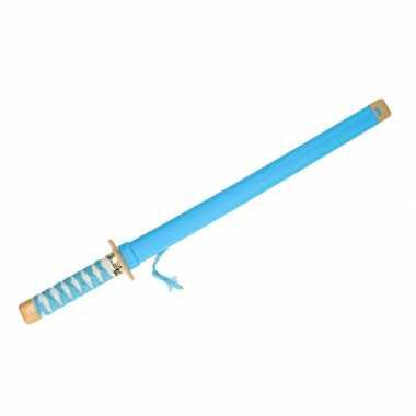 Groothandel speelgoed ninja zwaard blauw carnaval 65 cm kopen