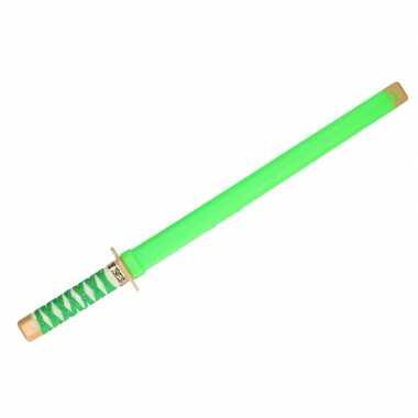 Groothandel speelgoed ninja zwaard groen carnaval 65 cm kopen
