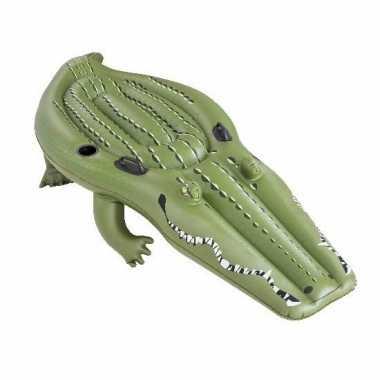 Groothandel speelgoed opblaas krokodil 259 x 104 cm kopen