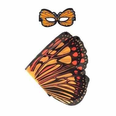 Groothandel speelgoed oranje monarchvlinder verkleedset kopen