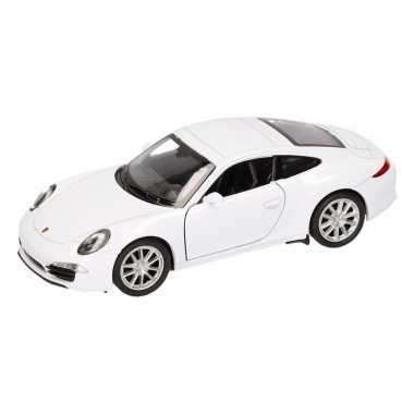Groothandel speelgoed porsche 911 carrera s wit welly autootje 1:36 k