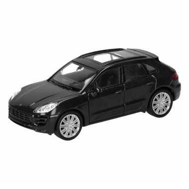 Groothandel speelgoed porsche macan turbo zwart autootje 12 cm kopen