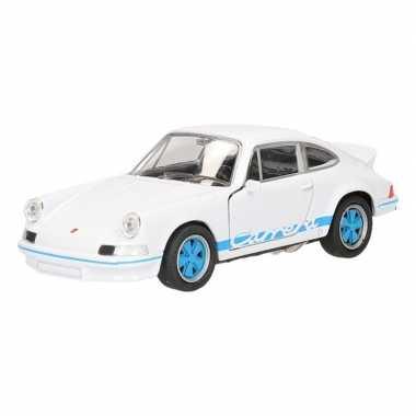Groothandel speelgoed porsche1973 carrera rs zwart welly autootje 11,
