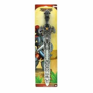 Groothandel speelgoed ridderzwaard voor kinderen 57 cm zilver kopen