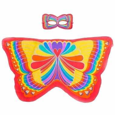 Groothandel speelgoed rode regenboogvlinder verkleedset kopen