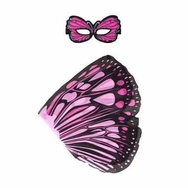 Groothandel speelgoed roze monarchvlinder verkleedset kopen