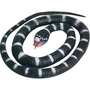 Groothandel speelgoed slang zwart 66 cm kopen