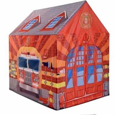 Groothandel speelgoed speeltent brandweerkazerne 102 cm kopen