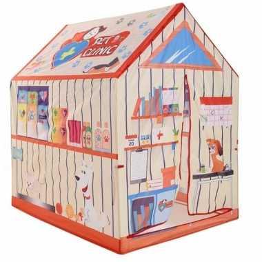 Groothandel speelgoed speeltent dierenwinkel 102 cm kopen