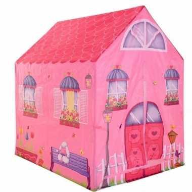 Groothandel speelgoed speeltent roze prinsessen huis 102 cm kopen