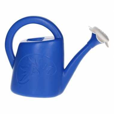 Groothandel speelgoed strandgieter blauw 0,5 liter voor jongens/meisj