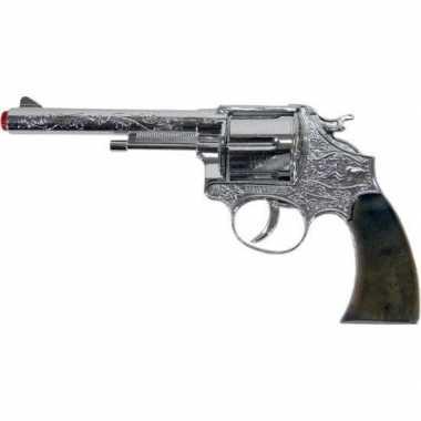 Groothandel speelgoed/verkleed plaf/klap geweer/pistool 12 schots 25