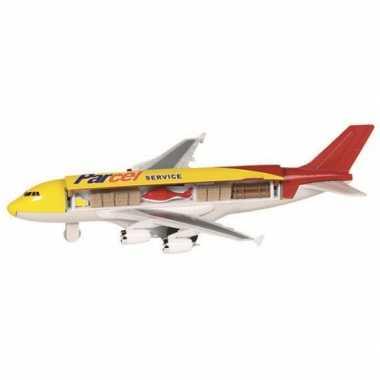 Groothandel speelgoed vliegtuigje geel kopen