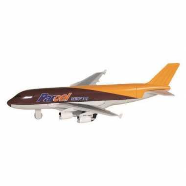 Groothandel speelgoed vliegtuigje metaal bruin 19 kopen
