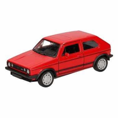 Groothandel speelgoed volkswagen golf gti i rood 12 cm kopen