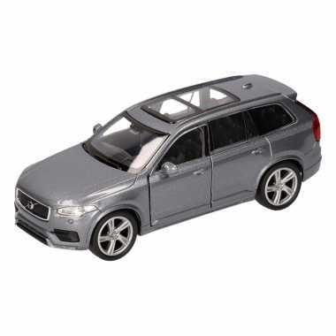 Groothandel speelgoed volvo 2015 xc 90 antraciet welly autootje 16 cm