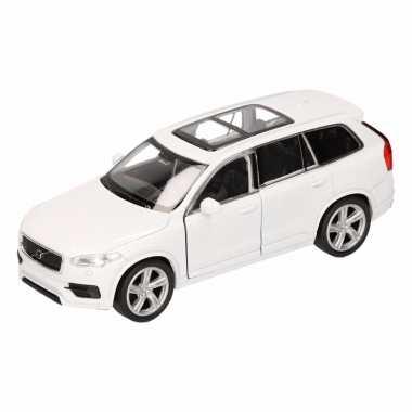Groothandel speelgoed volvo 2015 xc 90 wit welly autootje 16 cm kopen