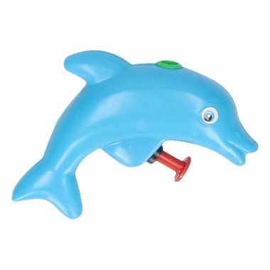 Groothandel speelgoed waterpistool dolfijn blauw 9 cm kopen