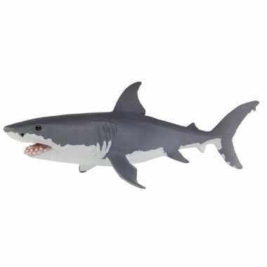 Groothandel speelgoed witte haai 13 cm kopen