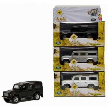 Groothandel speelgoed witte landrover 20 cm kopen
