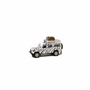 Groothandel speelgoed witte safari landrover 20 cm kopen