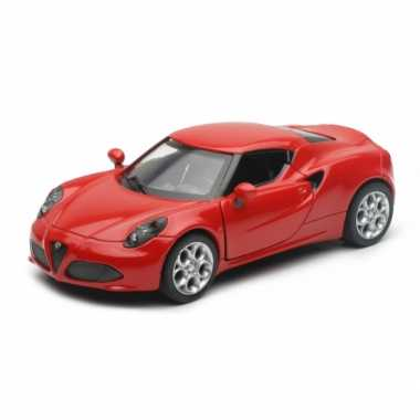 Groothandel speelgoedauto alfa romeo 4c rood kopen