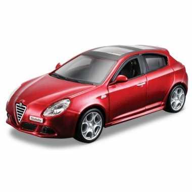 Groothandel speelgoedauto alfa romeo giulietta rood kopen