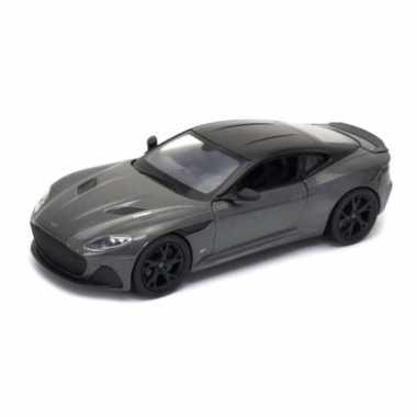 Groothandel speelgoedauto aston martin superleggera grijs 1:24/19 x 8 x 5 cm kopen