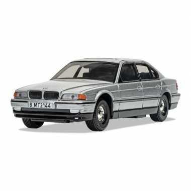 Groothandel speelgoedauto bmw 750i james bond schaal 1:36 zilver - 14 x 5 x 4 cm kopen