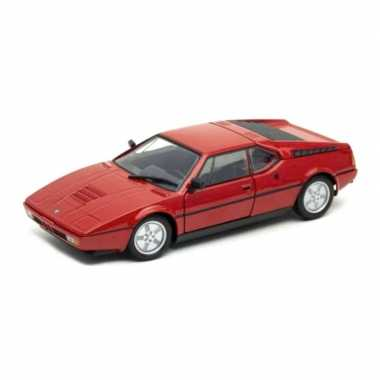 Groothandel speelgoedauto bmw m1 rood 1:24/18 x 7 x 5 cm kopen