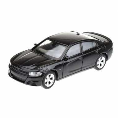 Groothandel speelgoedauto dodge charger 2016 zwart 1 34