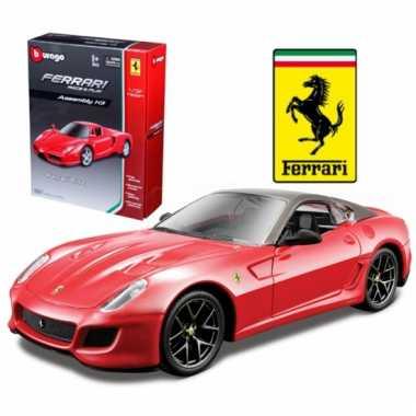Groothandel speelgoedauto ferrari 599 gto rood kopen