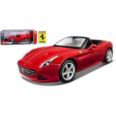 Groothandel speelgoedauto ferrari california t rood kopen