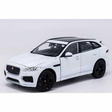 Groothandel speelgoedauto jaguar f-pace wit 1:34 kopen