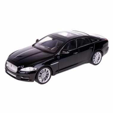 Groothandel speelgoedauto jaguar xj zwart 1:24/21 x 8 x 6 cm kopen