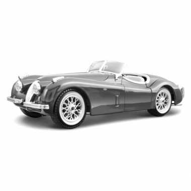 Groothandel speelgoedauto jaguar xk 120 cabriolet zilver kopen
