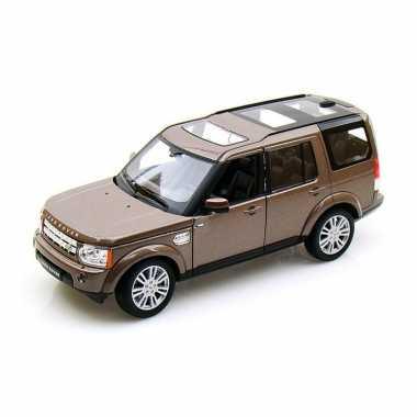 Groothandel speelgoedauto land rover discovery bruin 1:24/20 x 8 x 8 cm kopen