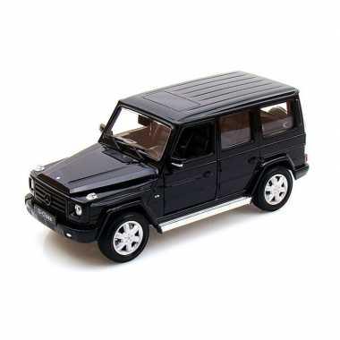 Groothandel speelgoedauto mercedes-benz g-klasse zwart 1:24/19 x 7 x 8 cm kopen