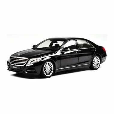 Groothandel speelgoedauto mercedes-benz s-klasse zwart 1:24/21 x 8 x 6 cm kopen