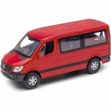 Groothandel speelgoedauto mercedes benz sprinter 1:36 rood kopen